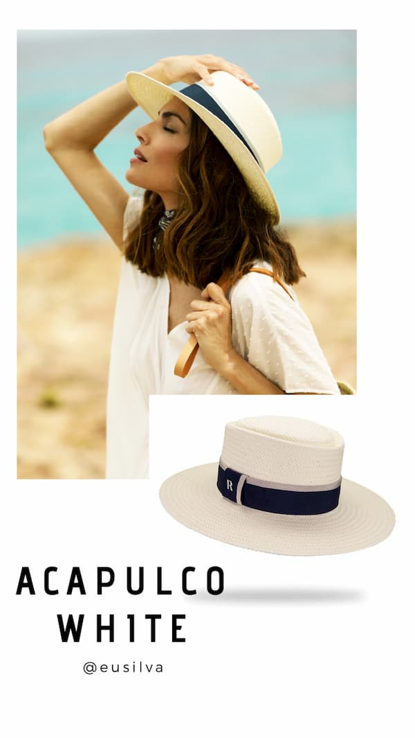 Acapulco White Hat by Raceu Hats