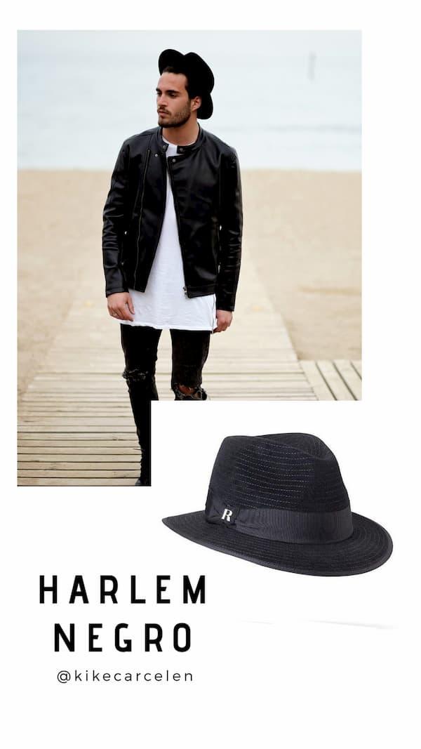Sombrero Harlem negro