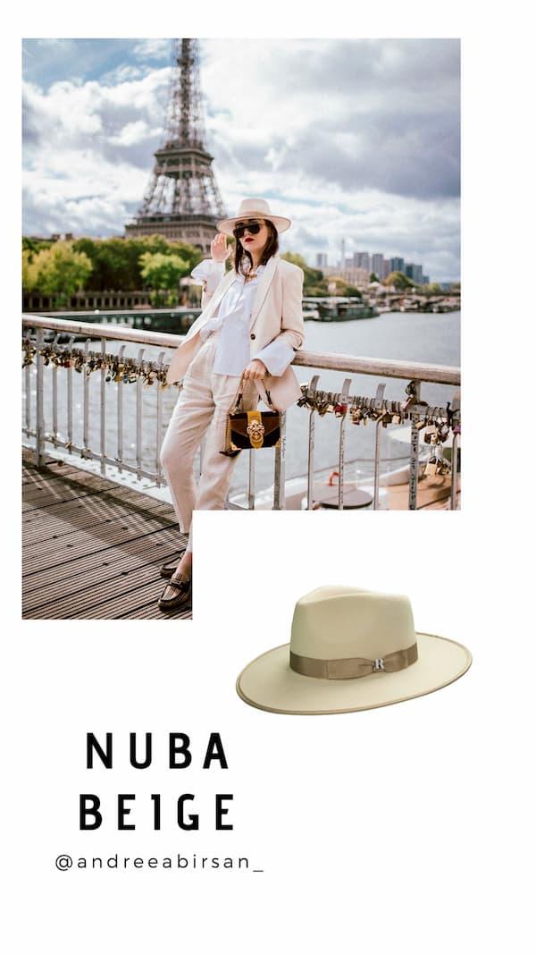 Sombrero Nuba Beige Raceu Atelier