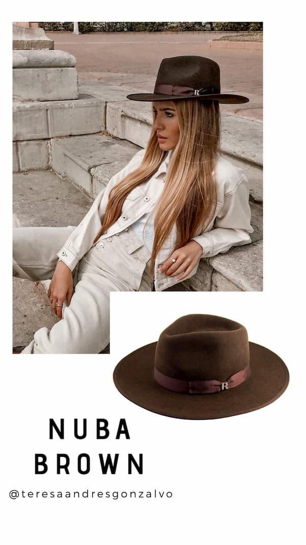 Sombrero Nuba Marrónr