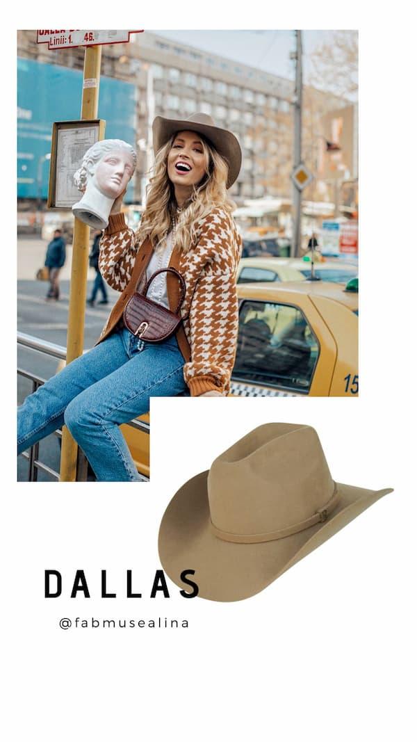 Sombrero Dallas Cowboy de Raceu Atelier