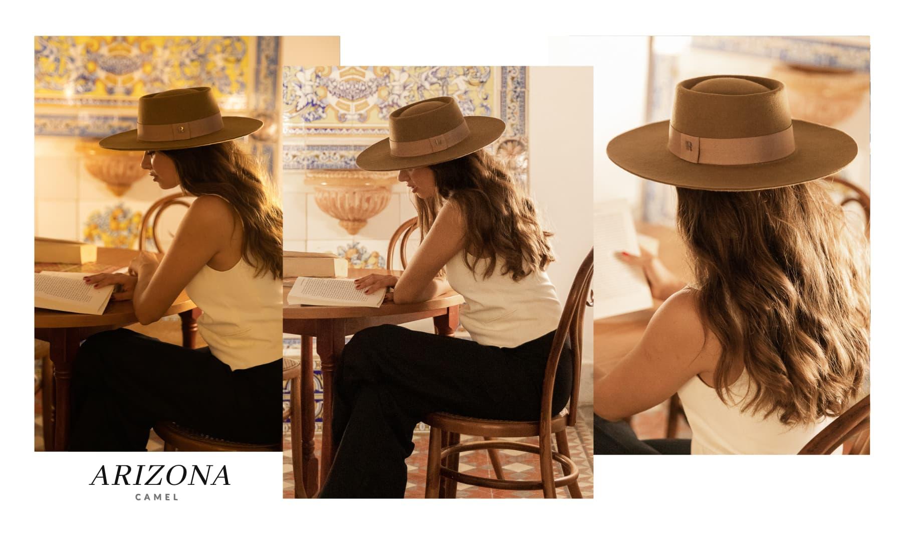 Sombrero de Fieltro Mujer Arizona