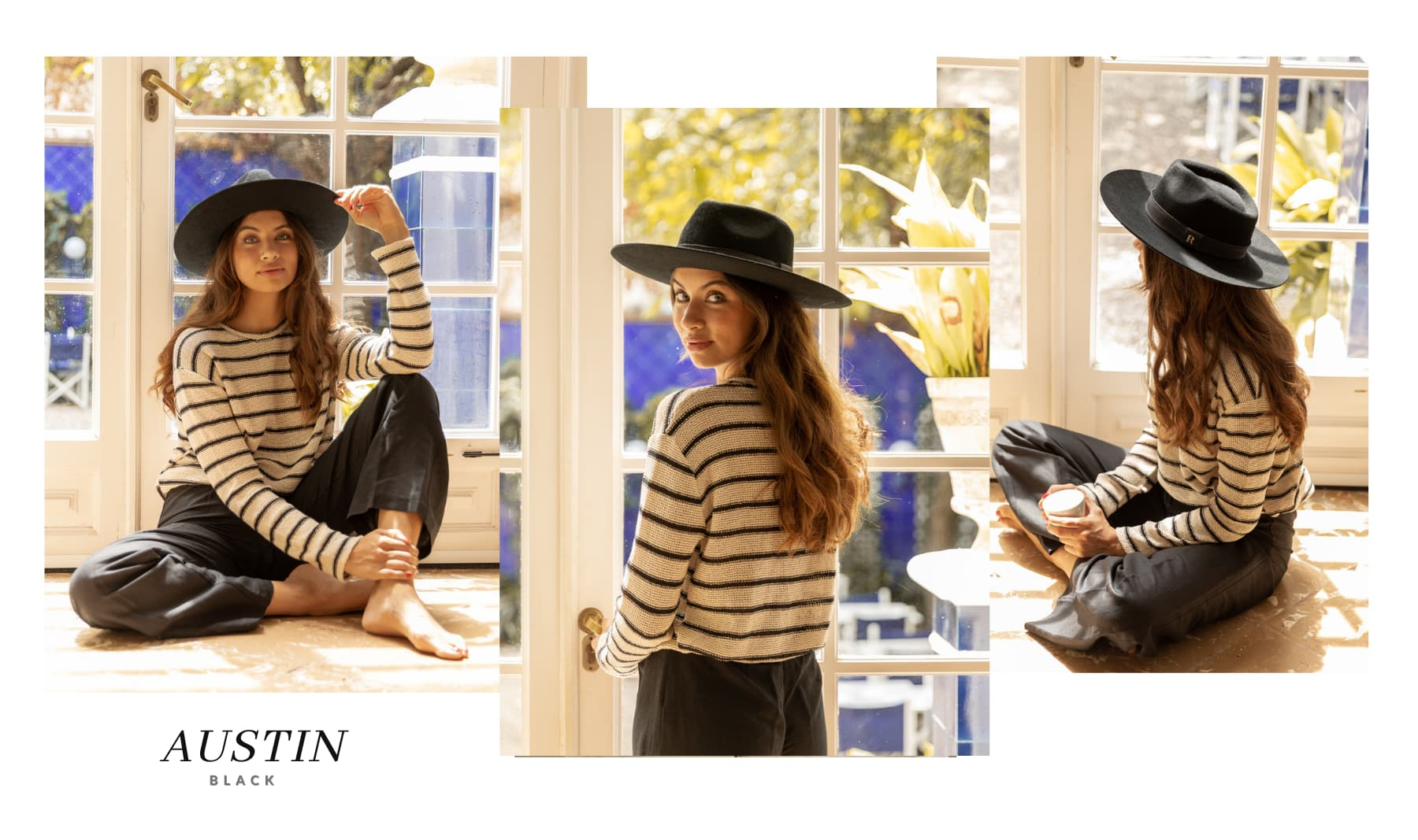 Sombrero de Fieltro Mujer Austin
