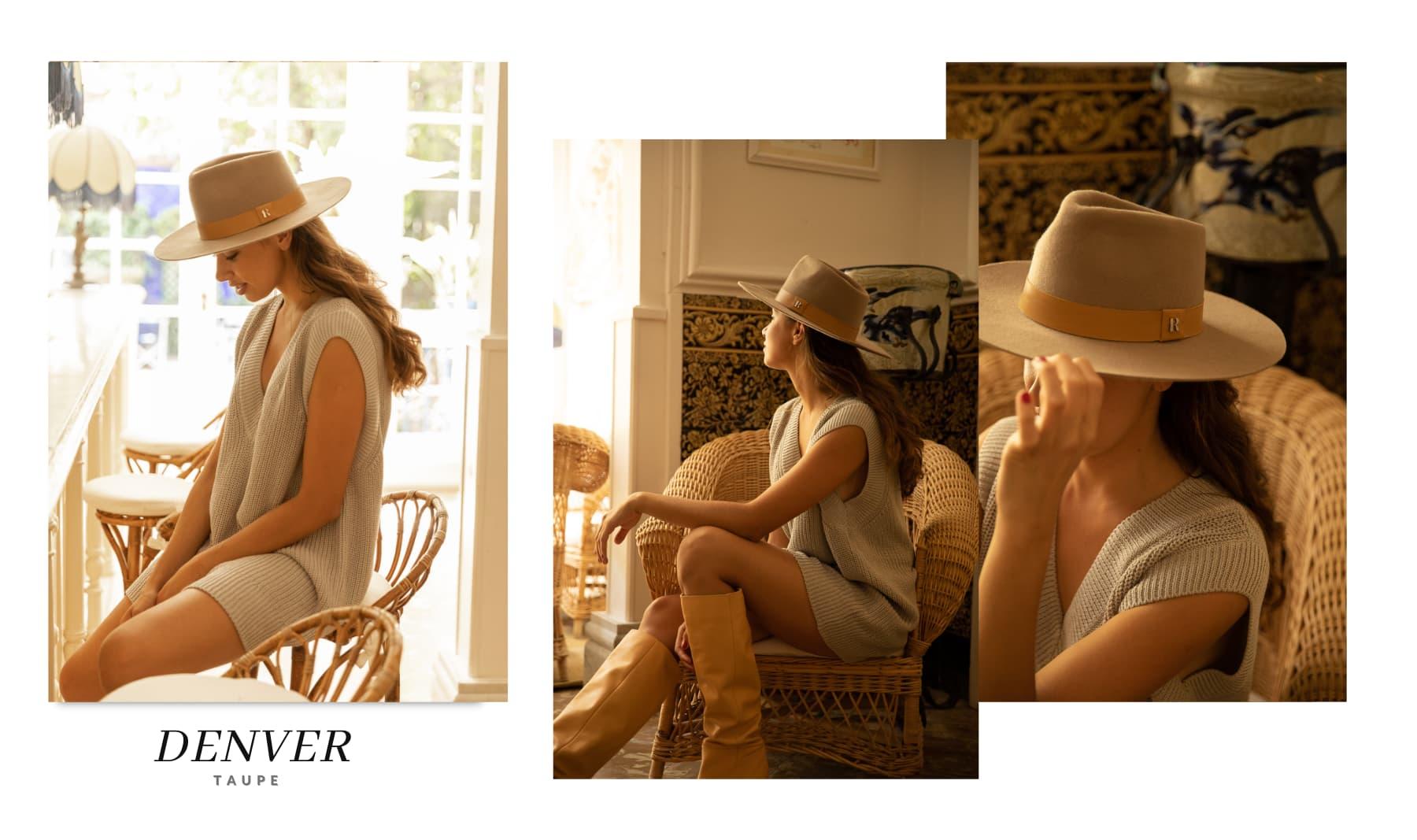 Sombrero de Fieltro Mujer Denver