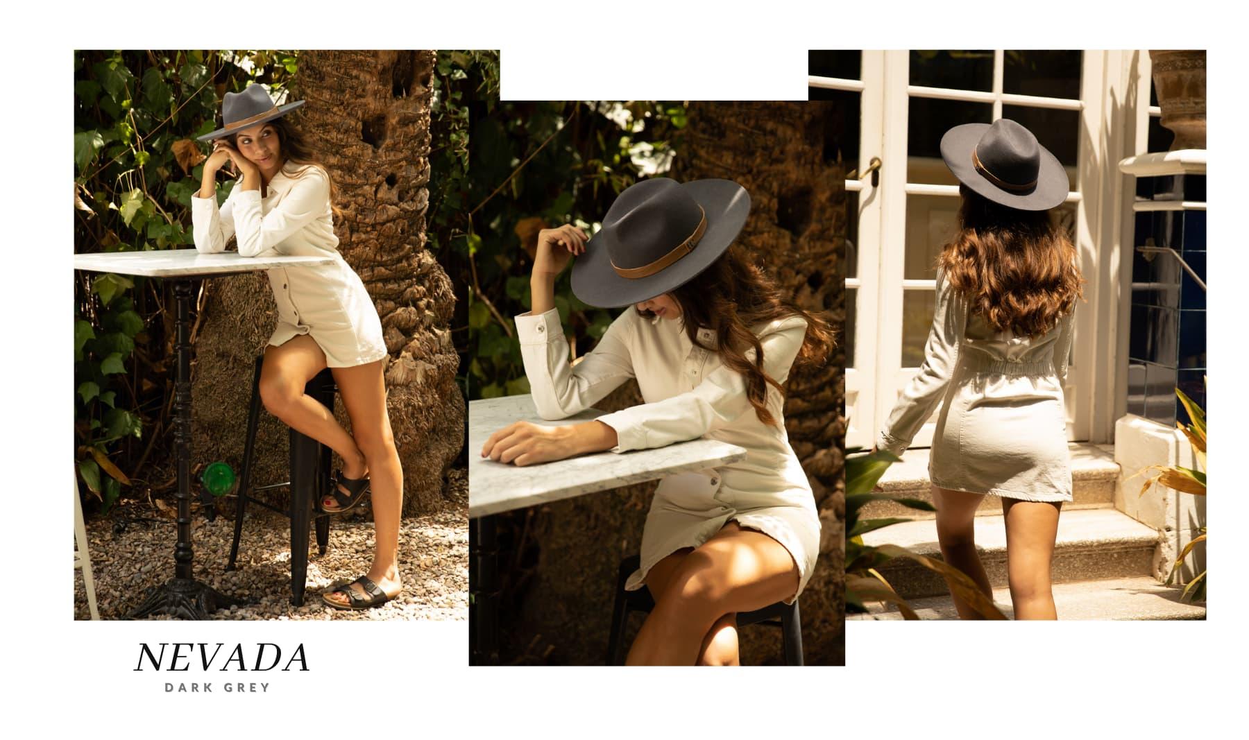 Sombrero de Fieltro Mujer Nevada