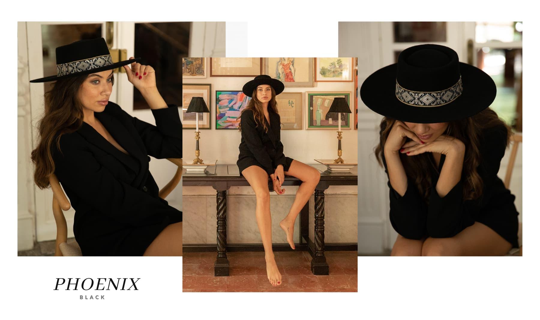 Sombrero de Fieltro Mujer Phoenix