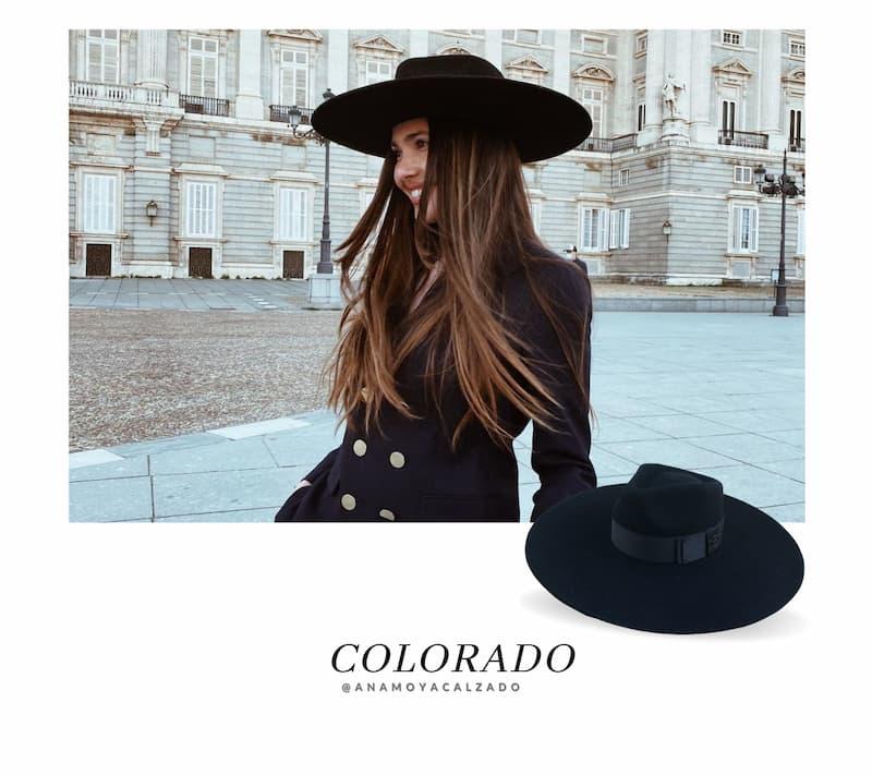 Sombrero Ala Ancha Colorado - Ala Rígida