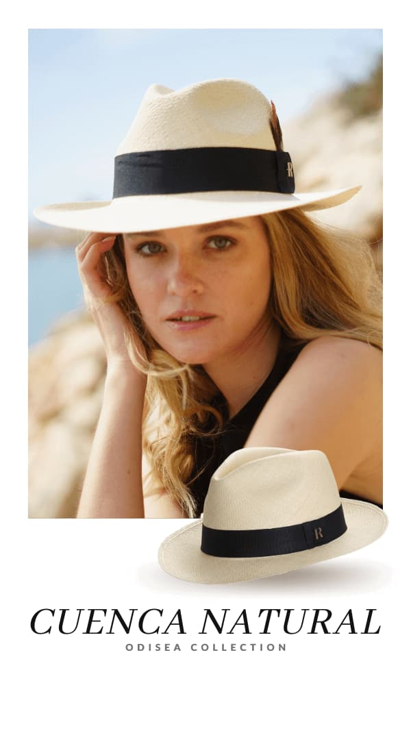 Panama Hat Cuenca Natural for Women