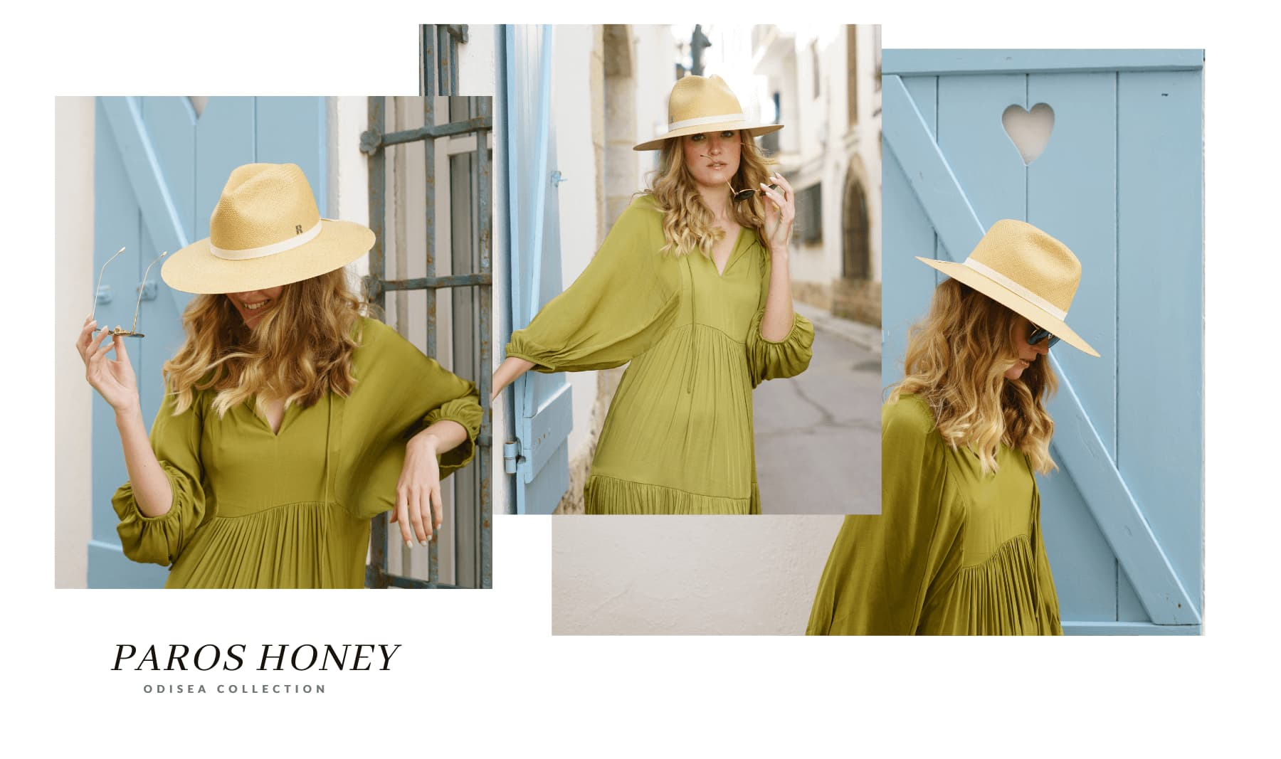 Paros Panama Hat Honey
